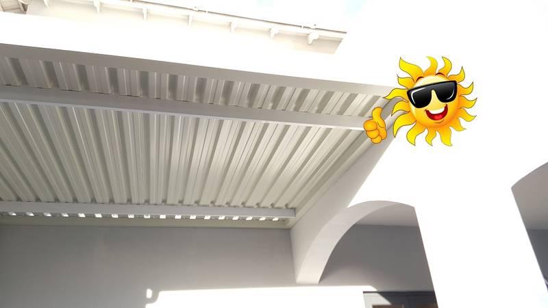 Sun Solutions Solid Aluminium Carport / Patio Cover