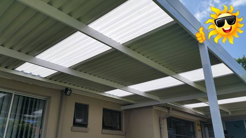 Sun Solutions Aluminium & Polycarb Carport / Patio Cover