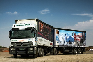 Bulk interlink Truck