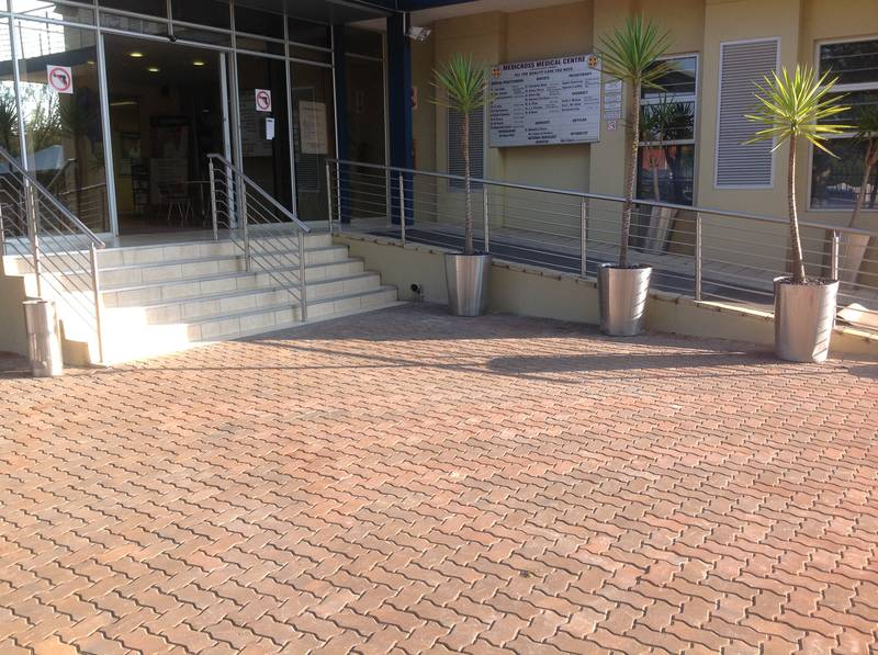 Interlocks at Edenvale Medicross