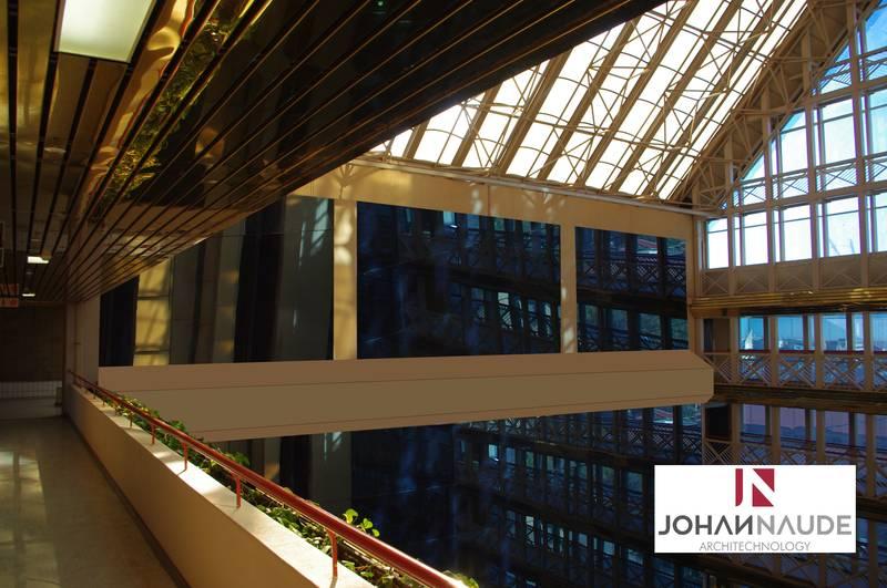 Bram Fischer Civic Centre, internal offices conversion 2015