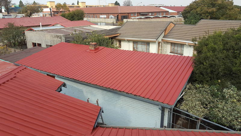 IBR Roof after Painting