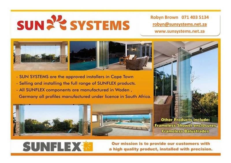 SUNFLEX FRAMELESS Glass Stacking Doors