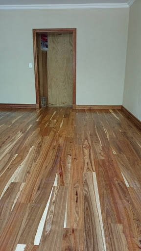 Solid Kiaat Savannah Flooring